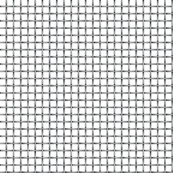 Naadloze metalen raster microfoon textuur geïsoleerd op een witte achtergrond.