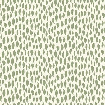 Naadloze natuurlijke patroon abstracte verticale vormen bladeren witte achtergrond