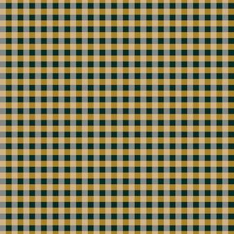 Naadloze pastel geruit patroon cottagecore pastelkleuren tekenen op gele achtergrond