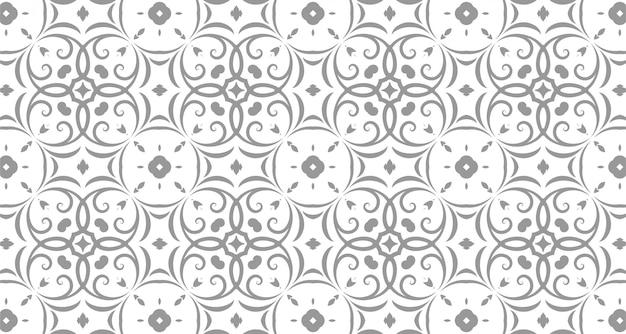 Naadloze patronen met grijze kleur