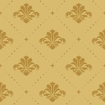 Naadloze patroon achtergrond barok. behang retro sier decoratief,