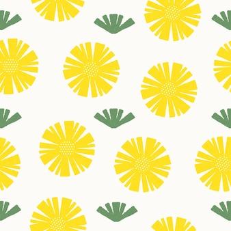 Naadloze patroon achtergrond voor het decoreren van behang inpakpapier prints poster stof