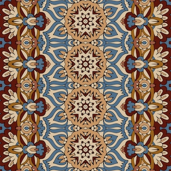 Naadloze patroon afrikaanse kunst batik ikat. etnisch vintage design.