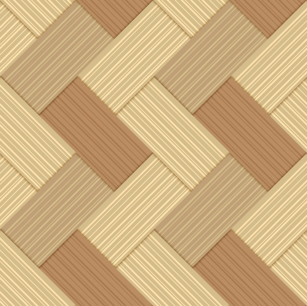 Naadloze patroon bamboe handgemaakte achtergrond