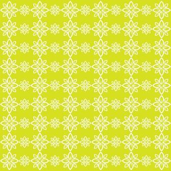 Naadloze patroon blad groen vector afbeelding