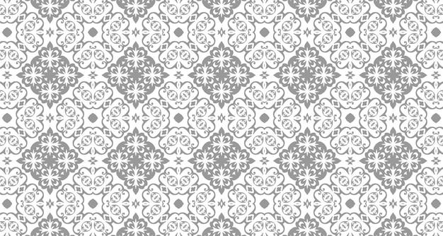 Naadloze patroon boho stijl achtergrond