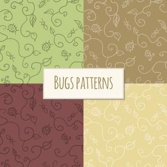 Naadloze patroon bugs