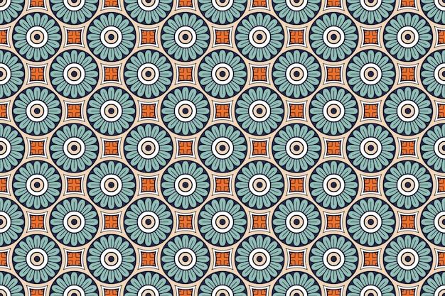 Naadloze patroon. hand getekend vintage decoratieve elementen.
