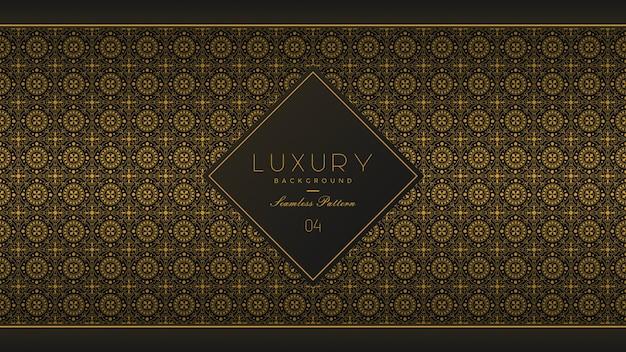 Naadloze patroon luxe achtergrond