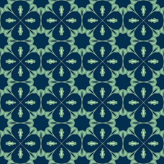 Naadloze patroon met abstracte mandala sier arabesque.