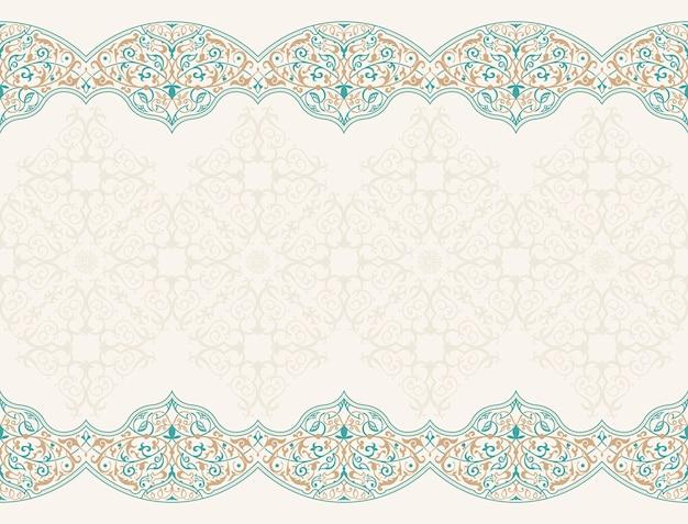 Naadloze patroon met kunst ornament voor