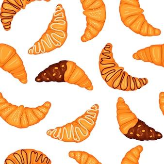 Naadloze patroon met snoep