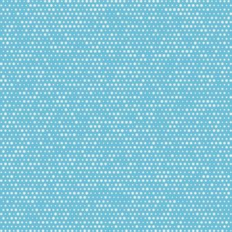 Naadloze patroon polka dots herhalende witte cirkels vector
