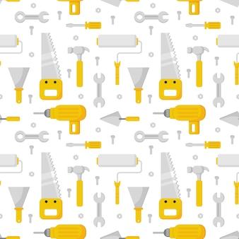 Naadloze patroon reparatie werk hulpmiddel