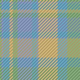 Naadloze patroon van schotse tartan plaid. herhaalbare achtergrond met de textuur van de chequestof. platte vector achtergrond van gestreepte textiel print. Premium Vector