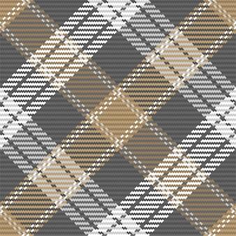 Naadloze patroon van schotse tartan plaid. herhaalbare achtergrond met de textuur van de controlestof. vlakke achtergrond van gestreepte textieldruk.