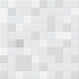 Naadloze patroon van vierkante tegels in verschillende grijstinten kleuren
