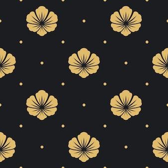 Naadloze patroon zwart
