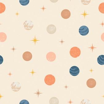 Naadloze patroonachtergrond voor het verfraaien van behangpapier inpakpapier prints posterstof