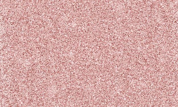 Naadloze roze pailletten textuur geïsoleerd op rose gouden achtergrond sprankelende rose gouden confetti