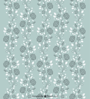 Naadloze rozen patroon