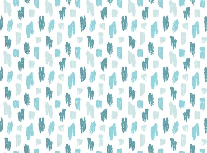 Naadloze ruwe blauwe lijnen penseelpatroon