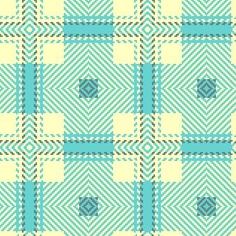 Naadloze tartan patroon. schotse geweven textuur.