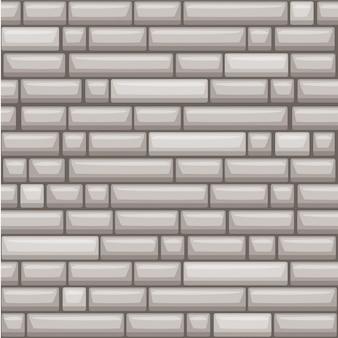 Naadloze textuur die grijze steenmuur plaatst