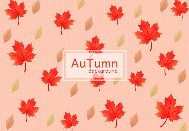 Naadloze vector en tijdens het autumn festival