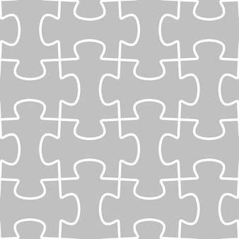 Naadloze vectorpatroontegel met raadseloverzicht
