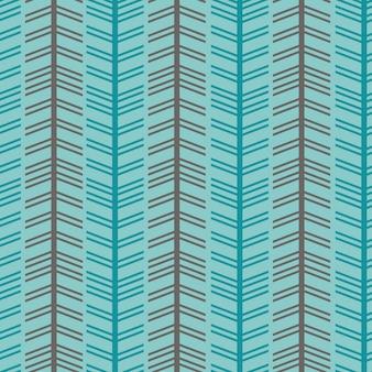 Naadloze visgraat chevron stijl met kleurrijk patroon