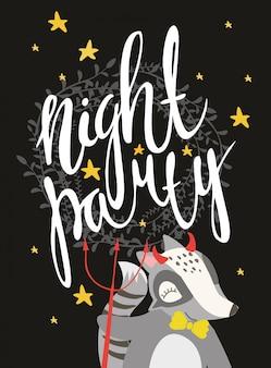 Nacht feestje