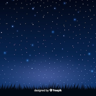 Nacht hemelachtergrond