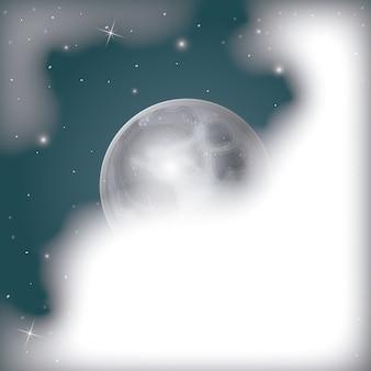Nachtelijke scène