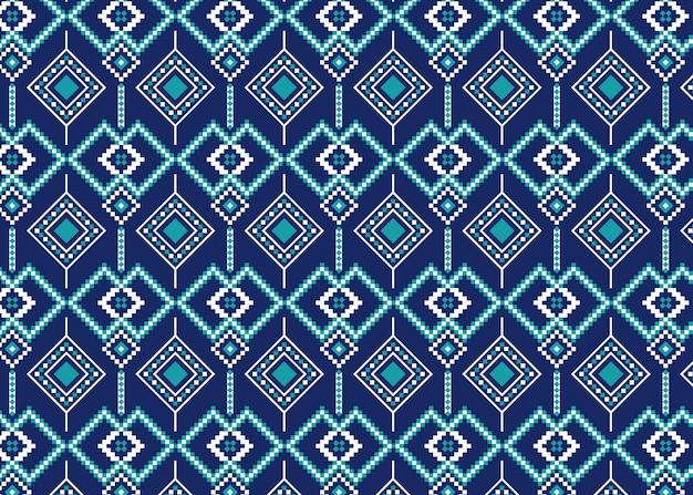 Nachtkleuren van songket-patroon