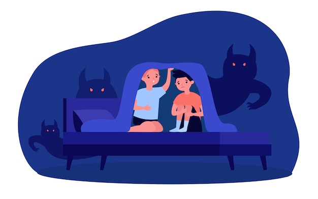 Nachtmerries en angsten van kinderen