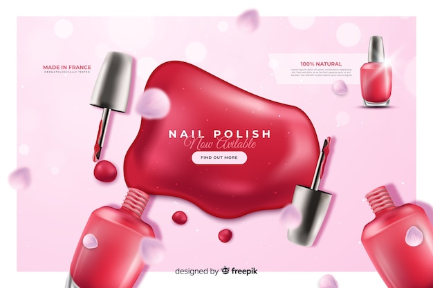 Nagellak advertentie