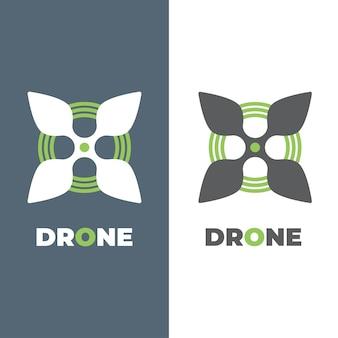 Nanocopter blad vector pictogram. stijl is een plat symboollogo, eco-groene kleur, afgeronde hoeken, witte en groene achtergrond.