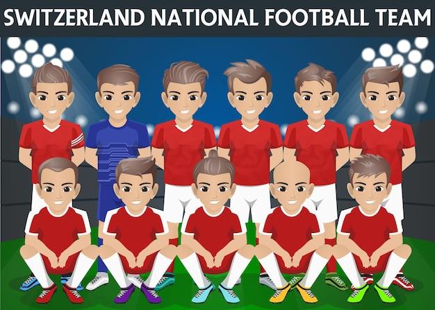 Nationaal voetbalelftal van zwitserland