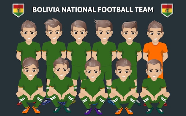 Nationaal voetbalteam bolivia