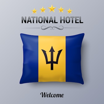 National hotel illustratie