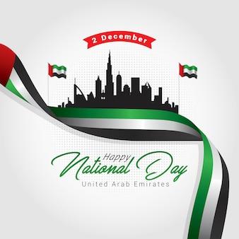 Nationale dag van de verenigde arabische emiraten