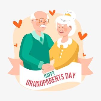 Nationale grootoudersdag met grootouders