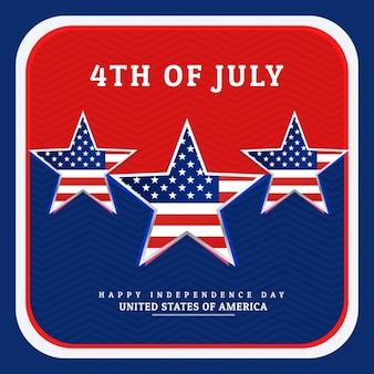 Nationale onafhankelijkheid dag van amerika