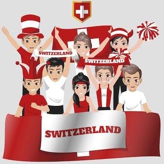 Nationale ploegverdediger van zwitserland