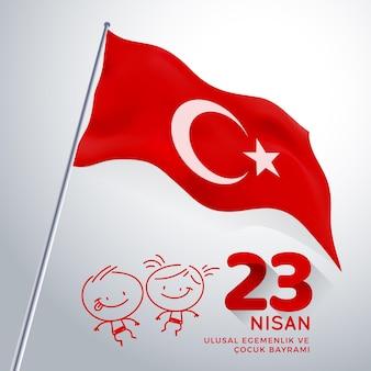 Nationale soevereiniteit en kinderdag in turkije