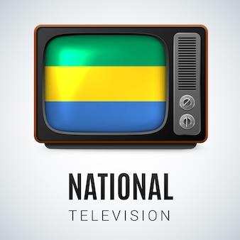 Nationale televisie illustratie