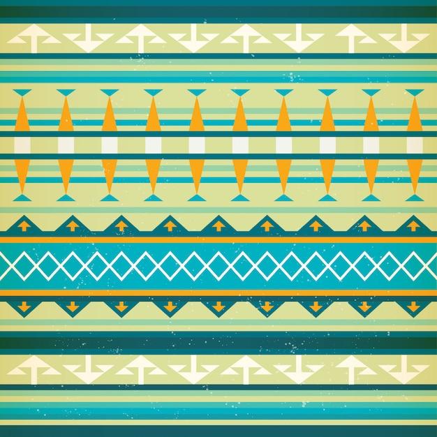 Native american vector naadloze patroon.
