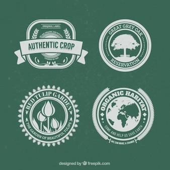 Natuur badges