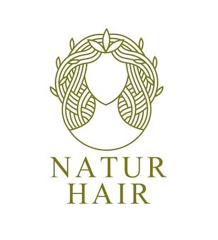 Natuur haar logo